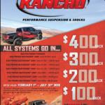Rancho Spring Promo