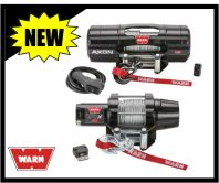 Warn Axon and VRX ATV Winches