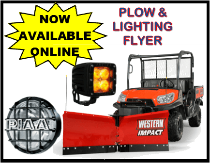 Plow & Lighting Flyer