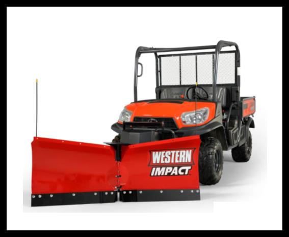 Western ATV & UTV Snow Plows